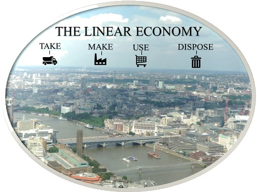 What is the linear economy?